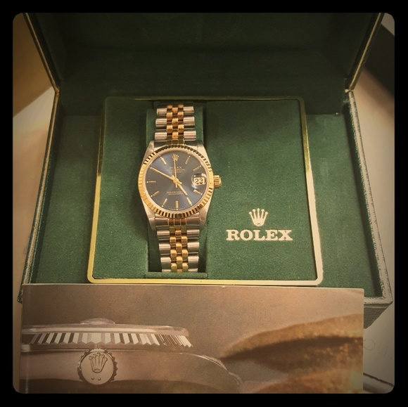 rolex oyster pre owned purchased at tourneau